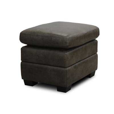 Luke Leather Tatum Leather Ottoman