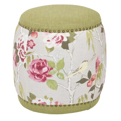 Ave Six Briana Barrel Ottoman