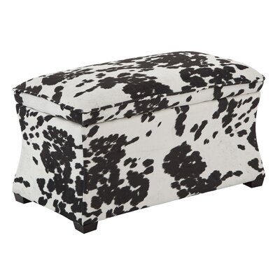 Ave Six Udder Madness Hourglass Storage Ottoman