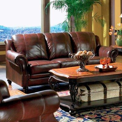 Wildon Home ® Harvard Leather Sofa