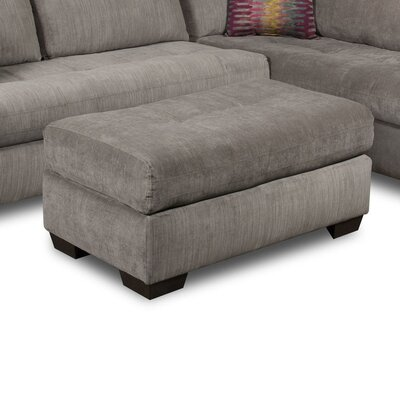 Wildon Home ® Graphite Ottoman