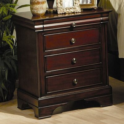 Darby Home Co Maquon 3 Drawer Nightstand