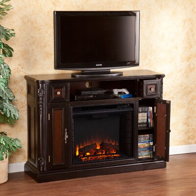 Wildon Home ® Gibbs TV Stand with Electric Fireplace