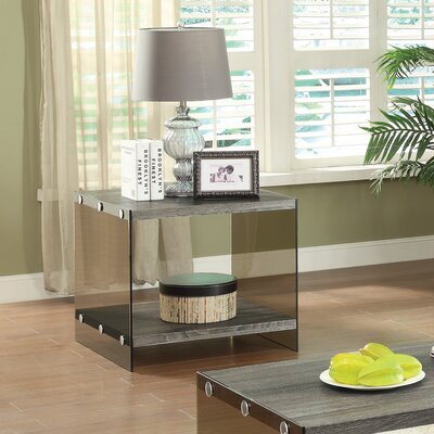 Mercury Row Arete End Table