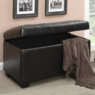 Wildon Home ® Faux Leather Ottoman
