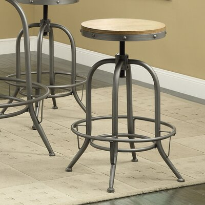 Trent Austin Design Boricco Adjustable Height Bar Stool (Set of 2)