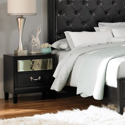 Wildon Home ® Devine 2 Drawer Nightstand