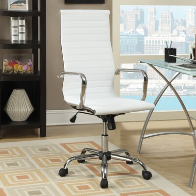 Wildon Home ? High-Back Office Chair with Arms