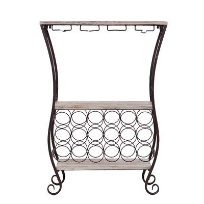 Wildon Home ® Andria 18 Bottle Floor Wine Rack