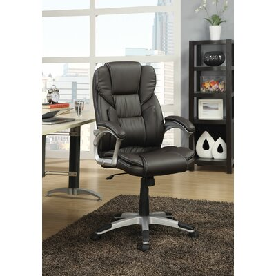 Wildon Home ® Leather Executive Chair