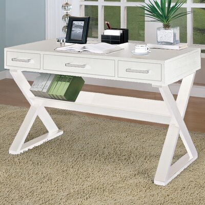 Wildon Home ® Bicknell 3 Drawer Writing Desk