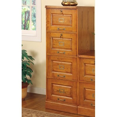 Wildon Home ® Paulina 4-Drawer File Cabinet