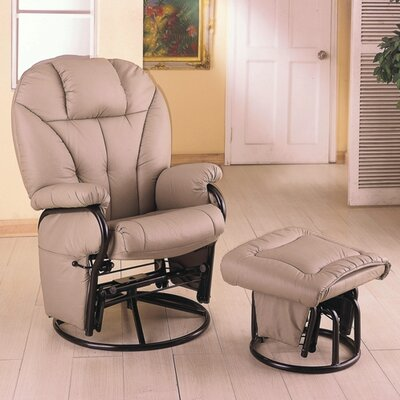 Wildon Home ® Glenwood Swivel Glider Recliner a..