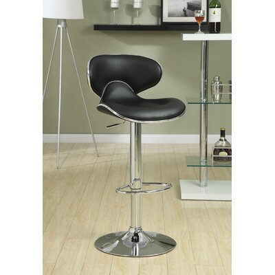 Wildon Home ® Adjustable Height Swivel Bar Stool (Set of 2)