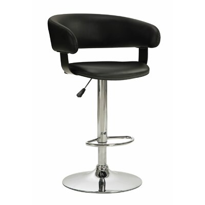 Wildon Home ® Adjustable Height Swivel Bar Stool