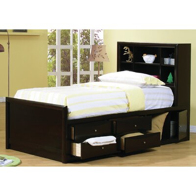 Wildon Home ® Panel Bed with Storage