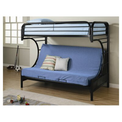 Wildon Home ® Fall Creek Twin over Full Futon Bunk Bed