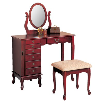 Wildon Home ® Winlock Vanity Set with Mi..
