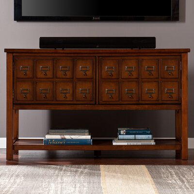 Wildon Home ® Saffron Apothecary TV Stand