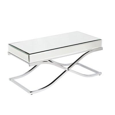Wildon Home ® Caraman Mirrored Coffee Table