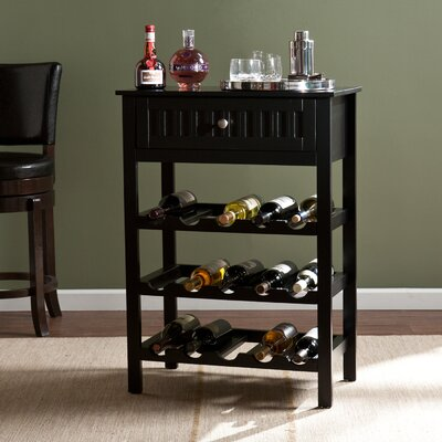 Wildon Home ® Heartland 15 Bottle Floor Wine Rack