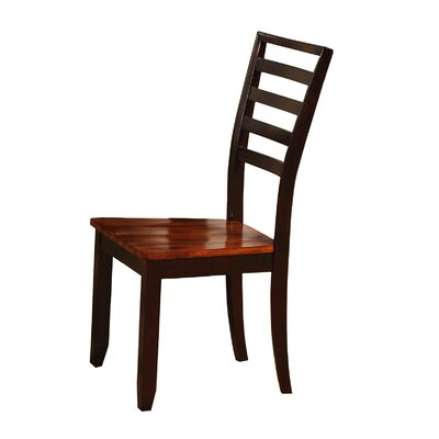 Wildon Home ? Side Chair in Brown (Set of 2)