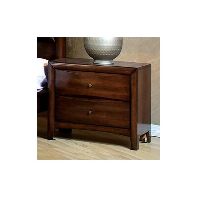 Darby Home Co Le Roy 2 Drawer Nightstand