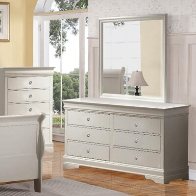 Wildon Home ® Louis Phillip 6 Drawer Dresser