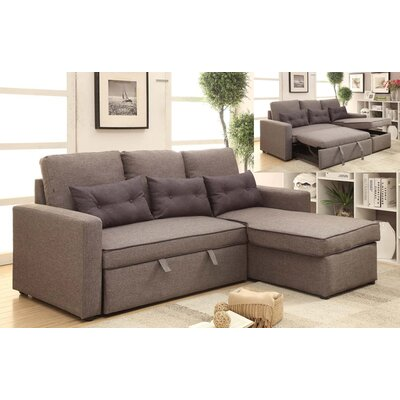 Wildon Home ® Sleeper Sectional  sc 1 th 225 : wildon home sectional - Sectionals, Sofas & Couches