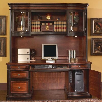 Astoria Grand Shannondale Computer Desk with Hutch