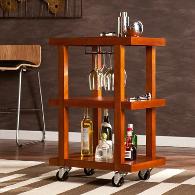 Darby Home Co Terrell Bar Serving Cart