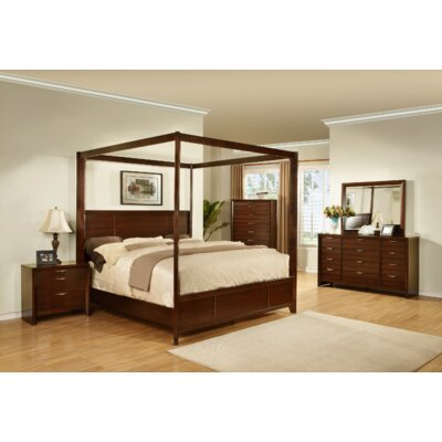 Wildon Home ® Lancaster Canopy Customizable Bedroom Set