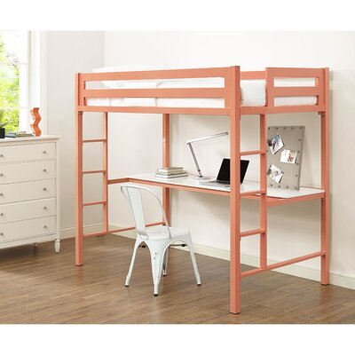Viv + Rae Nikolai Twin Loft Bed Customizable Be..