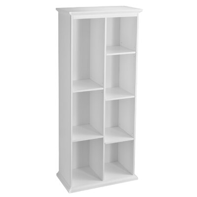 Darby Home Co Tillson Tall White Displ..