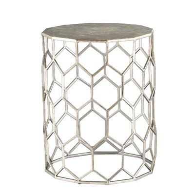 Mercer41 Topol  Metal End Table