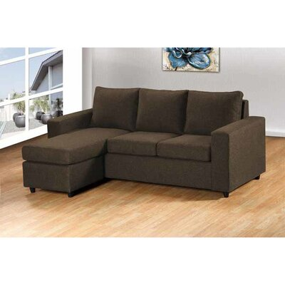 Wildon Home ® Reversible Chaise Sectional
