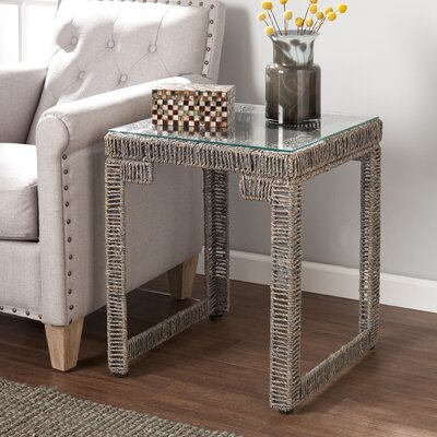 World Menagerie Ambridge Woven End Table