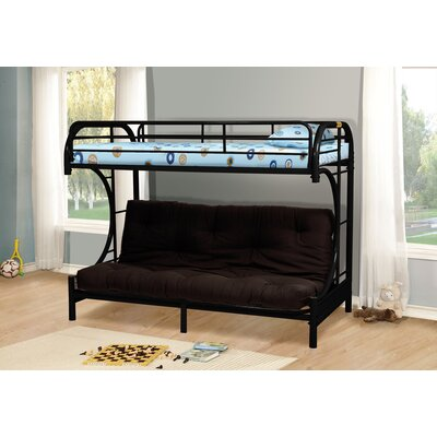 Wildon Home ® Twin over Full Futon Bunk Bed