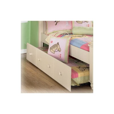 Wildon Home ® Carey Twin Trundle Panel in Cream..