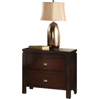Andover Mills Quentin 2 Drawer Nightstand