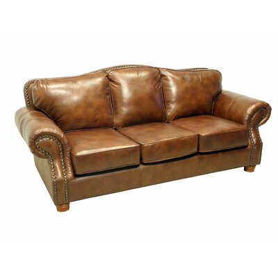 Wildon Home ® Leather Sofa
