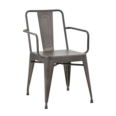 Mercury Row Branden Armour Arm Chair (Set..