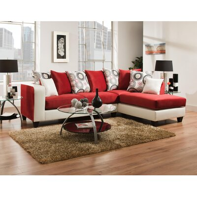 Wildon Home ® Analese Reversible Chaise Sectional