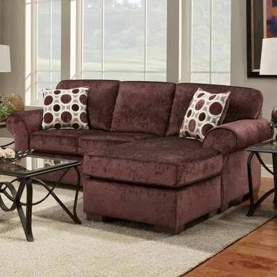 Wildon Home ® Chloe Reversible Chaise Sectional : wildon home sectional - Sectionals, Sofas & Couches