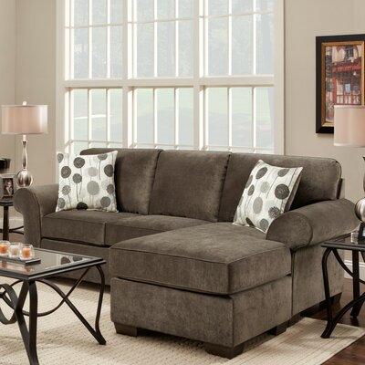 Wildon Home ® Cleo Reversible Chaise Sectional