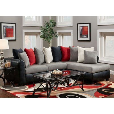 Wildon Home ® Brianna Victory Lane Sectional