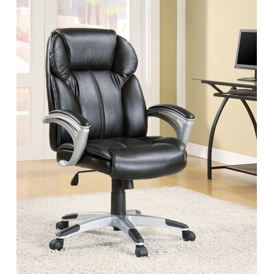 Wildon Home ? Contemporary Faux High-Back Leather Office Task Chair