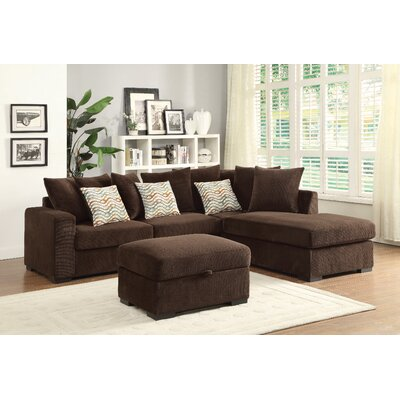 Wildon Home ® Olson Reversible Chaise Sectional