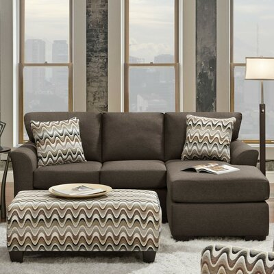 Wildon Home ® Charlie Reversible Chaise Sectional