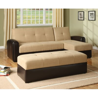 Wildon Home ® Logan Sleeper Sectional